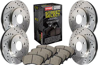 Stoptech Select Brake Kits 4 Wheel