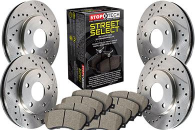 Stoptech Select Brake Kits 4 Wheel