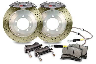 stoptech trophy sport big brake kit 2 piston drilled zinc coated sample