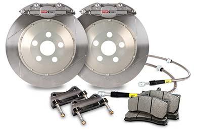 stoptech trophy sport big brake kit 2 piston slotted sample