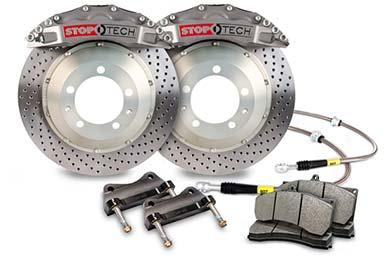 stoptech trophy sport big brake kit 6 piston drilled sample