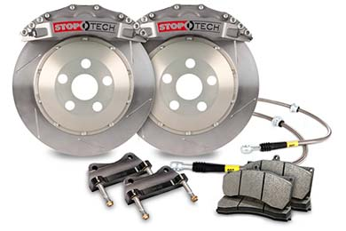 stoptech trophy sport big brake kit 6 piston slotted sample