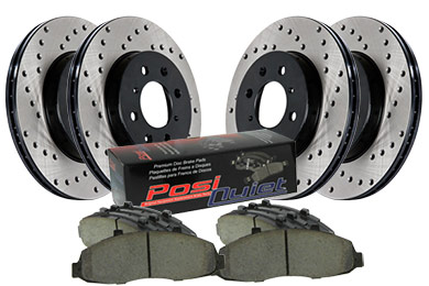 stoptech drilled street brake kit 4 wheel sample