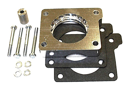 street and performance technology helix throttle body spacer 22005