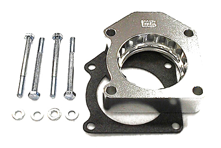 street and performance technology helix throttle body spacer 30025