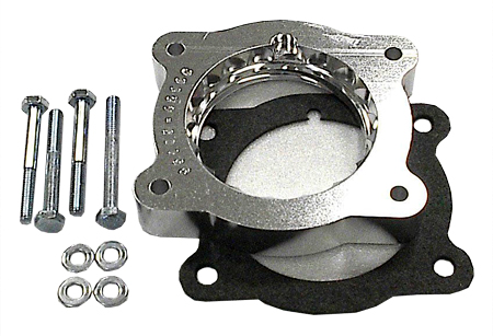 street and performance technology helix throttle body spacer 35105