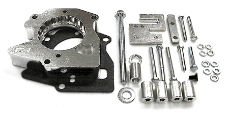 street and performance technology helix throttle body spacer 37055