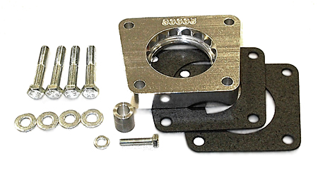 street and performance technology helix throttle body spacer 38005