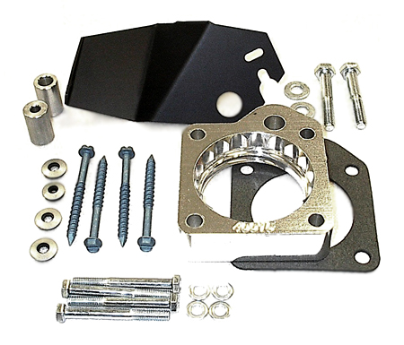 street and performance technology helix throttle body spacer 40015