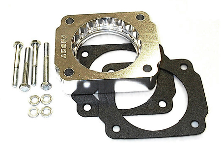 street and performance technology helix throttle body spacer 40045