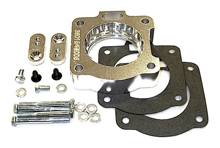 street and performance technology helix throttle body spacer 42005