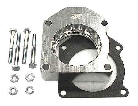 street and performance technology helix throttle body spacer 42016
