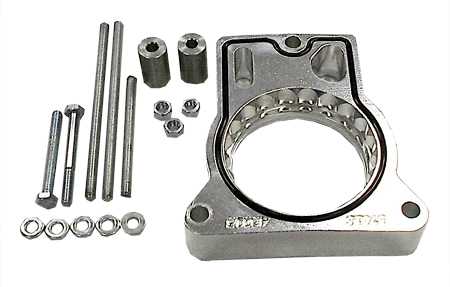 street and performance technology helix throttle body spacer 43015