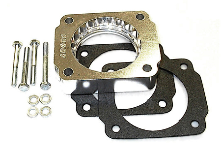 street and performance technology helix throttle body spacer 46007