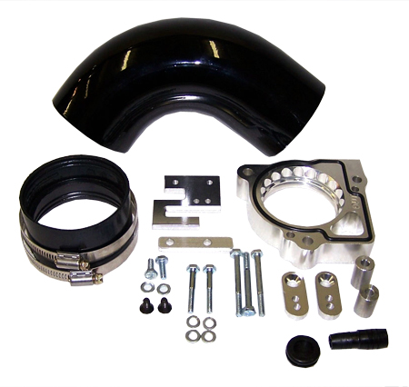 street and performance technology helix throttle body spacer 47035
