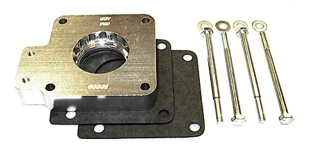 street and performance technology helix throttle body spacer 50005
