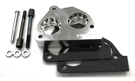 street and performance technology helix throttle body spacer 57005