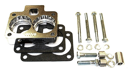 street and performance technology helix throttle body spacer 59015