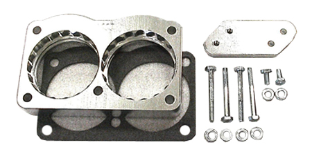 street and performance technology helix throttle body spacer 83005