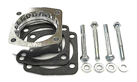 street and performance technology helix throttle body spacer 91306