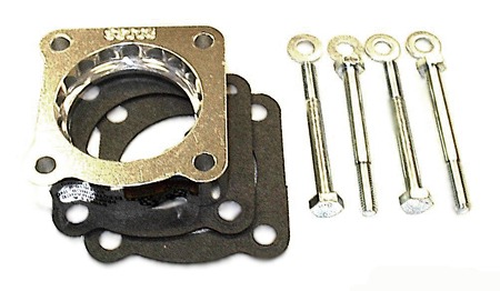 street and performance technology helix throttle body spacer 93005