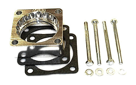 street and performance technology helix throttle body spacer 94255