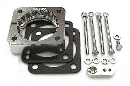 street and performance technology helix throttle body spacer 94355
