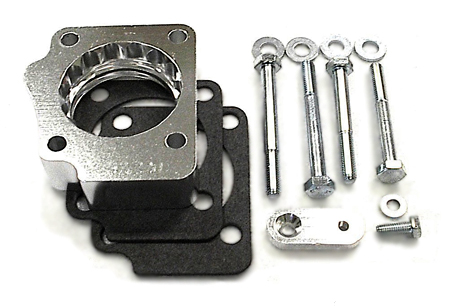 street and performance technology helix throttle body spacer 97220