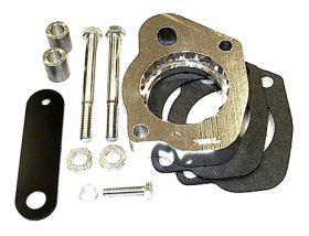 street and performance technology helix throttle body spacer 20035