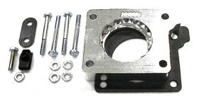 street and performance technology helix throttle body spacer 22015