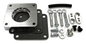 street and performance technology helix throttle body spacer 23005