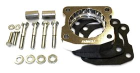 street and performance technology helix throttle body spacer 24055