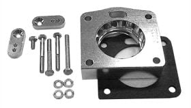 street and performance technology helix throttle body spacer 30015