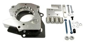 street and performance technology helix throttle body spacer 37045