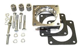 street and performance technology helix throttle body spacer 40005