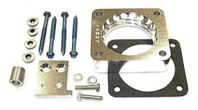 street and performance technology helix throttle body spacer 40035