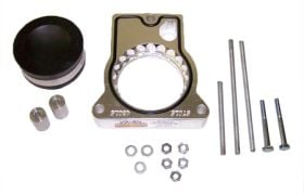 street and performance technology helix throttle body spacer 43016