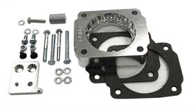 street and performance technology helix throttle body spacer 46025