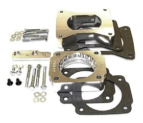 street and performance technology helix throttle body spacer 46035