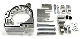 street and performance technology helix throttle body spacer 47005