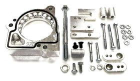 street and performance technology helix throttle body spacer 47025