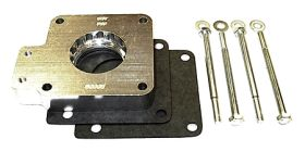 street and performance technology helix throttle body spacer 50015