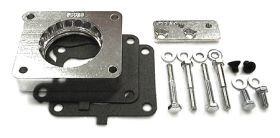 street and performance technology helix throttle body spacer 50025