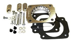 street and performance technology helix throttle body spacer 54005