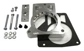 street and performance technology helix throttle body spacer 57025