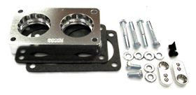street and performance technology helix throttle body spacer 68005