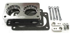 street and performance technology helix throttle body spacer 68015