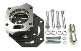street and performance technology helix throttle body spacer 91245
