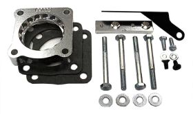 street and performance technology helix throttle body spacer 93002
