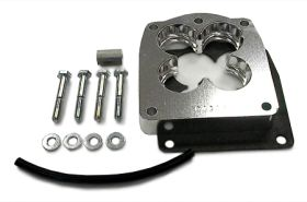 street and performance technology helix throttle body spacer 94245